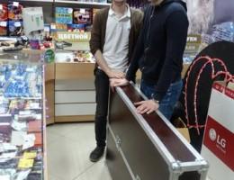 Кофр-кейс для плазмы с диагональю 55 дюймов