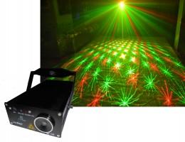 SL61RGY лазерный эффект