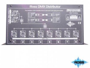 Ross DMX Distributor